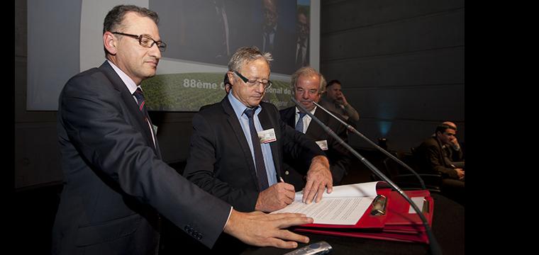 Signature des Accords de bonnes pratiques entre la CSD, la CDAF et le SNPRM