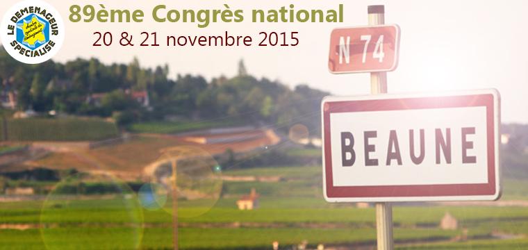 89ème Congrès de la CSD à Beaune